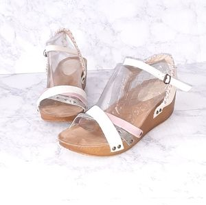Coolway Leather Strappy Sandals